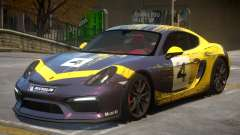 2015 Porsche Cayman Clubsport 2K для GTA 4