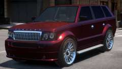 New Huntley Sport Interior для GTA 4