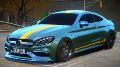 2017 Mercedes Benz C63 S AMG Coupe V1 для GTA 4