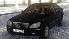 Mercedes-Benz W220 для GTA San Andreas