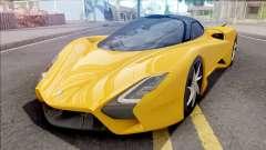 SSC Tuatara 2019 для GTA San Andreas