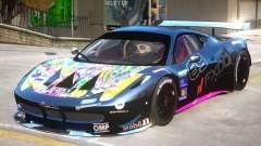 Ferrari 458 GT2 PJ3 для GTA 4