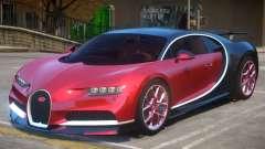 2017 Bugatti Chiron wheel red для GTA 4