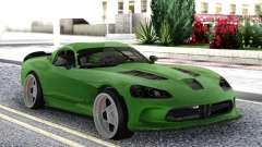 Dodge Viper SRT10 Formula Drift для GTA San Andreas