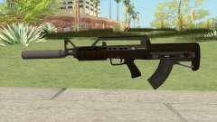 Bullpup Rifle (With Silencer V1) GTA V для GTA San Andreas
