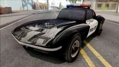 Invetero Coquette Classic Police для GTA San Andreas