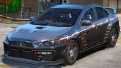 Mitsubishi Lancer Evo X PJ1 для GTA 4