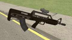 Bullpup Rifle (With Scope V1) GTA V для GTA San Andreas