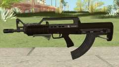 Bullpup Rifle (Two Upgrades V2) GTA V для GTA San Andreas