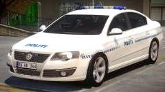 Volkswagen Passat Police для GTA 4