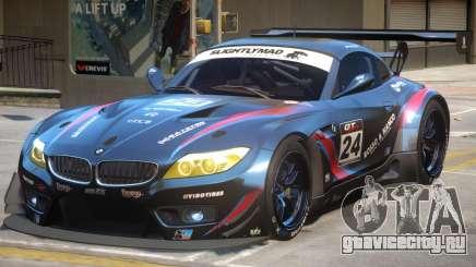 BMW Z4 GT3 PJ2 для GTA 4