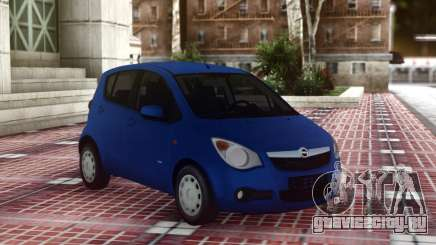 Opel Agila Compact для GTA San Andreas