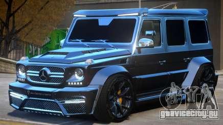 Mercedes Benz G7 Onyx для GTA 4