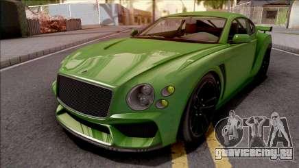 GTA V Enus Paragon R Green для GTA San Andreas