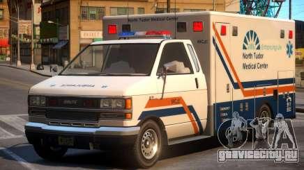 Ambulance North Tudor Medical Center для GTA 4