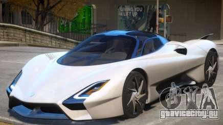 2019 SSC Tuatara для GTA 4