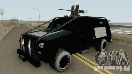 HVY RAID FBI Truck для GTA San Andreas