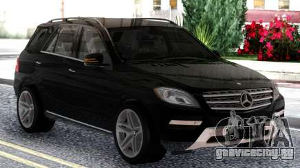 Mercedes-Benz ML Class 2013 Sport Black для GTA San Andreas