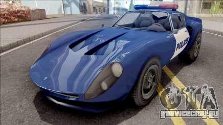 Grotti Stinger GT Police для GTA San Andreas