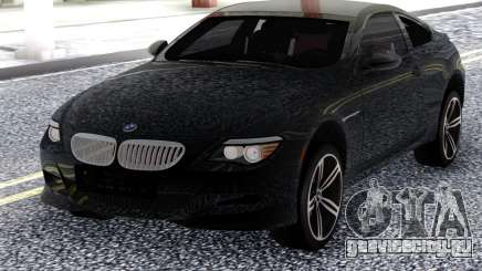 BMW M6 E63 2010 Black для GTA San Andreas