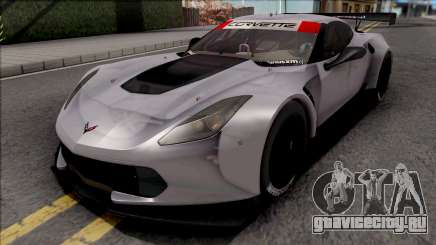 Chevrolet Corvette C7R 2014 Paint Job Preset 1 для GTA San Andreas