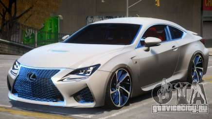 Lexus Coupe RC F для GTA 4