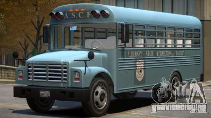 Vapid Prison Bus (Improved) V1.1 для GTA 4
