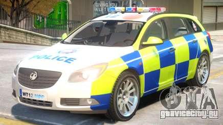 Opel Insignia Police для GTA 4
