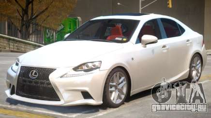 Lexus IS 350 V1 для GTA 4