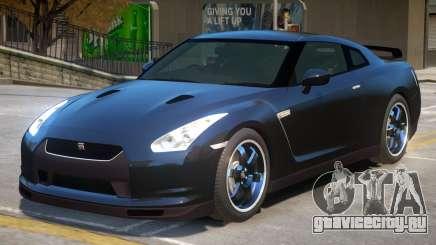 Nissan GTR R35 V1.1 для GTA 4