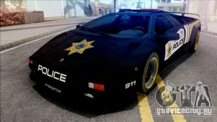Lamborghini Diablo SV Police NFS Hot Pursuit для GTA San Andreas