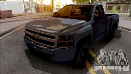 Chevrolet Silverado Single Cab 2010 для GTA San Andreas