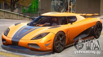 Koenigsegg Agera R2 для GTA 4