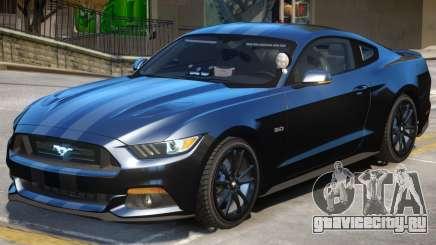 FBI Ford Mustang GT для GTA 4