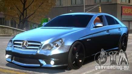 Mercedes CLS AMG W219 для GTA 4