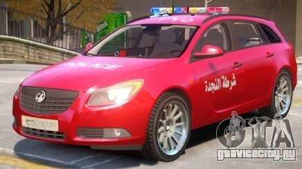Opel Insignia Syrian Police для GTA 4