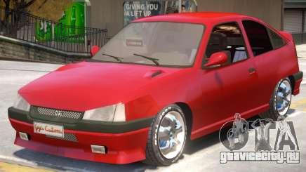 Opel Kadett GSI V2 для GTA 4