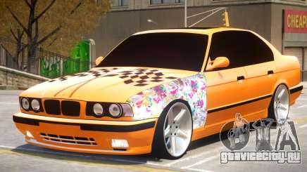 BMW M5 E34 V2.1 для GTA 4