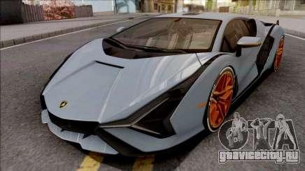 Lamborghini Sian 2020 для GTA San Andreas