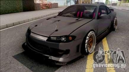 Nissan Silvia S15 Cyberpunk для GTA San Andreas