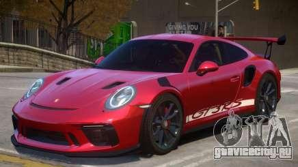 2018 Porsche 911 GT3 RS v1.1 для GTA 4