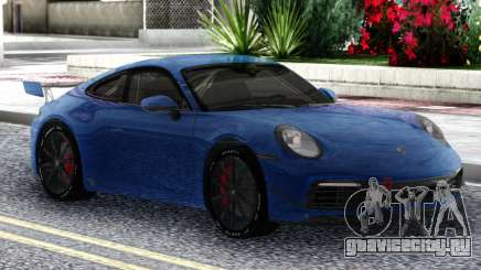 Porsche 911 Carrera S 2019 для GTA San Andreas