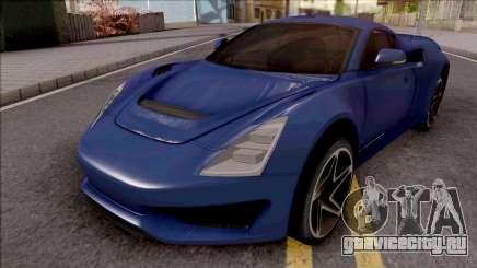 Saleen S1 2018 Blue для GTA San Andreas