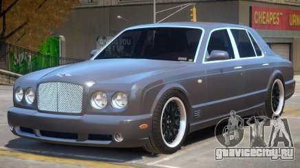 Bentley Arnage Custom V1 для GTA 4