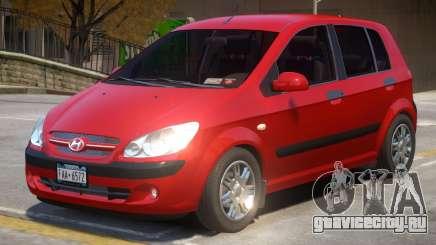 Hyundai Getz V2 для GTA 4