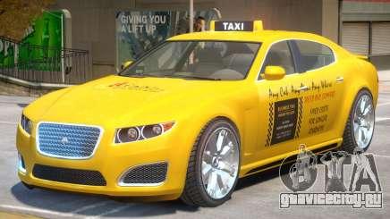 Lampadati Felon TaxiCar для GTA 4