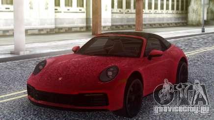 Porsche 911 2020 для GTA San Andreas