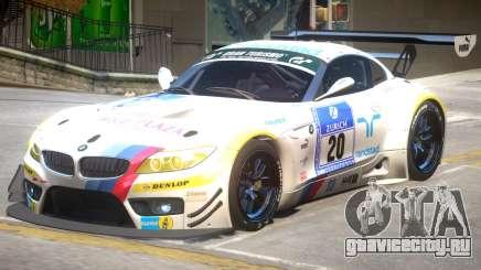BMW Z4 GT3 PJ1 для GTA 4