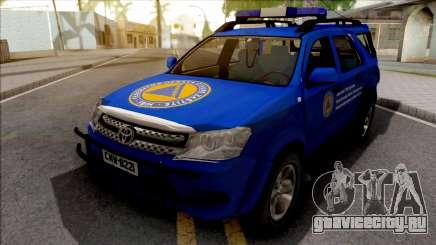 Toyota Fortuner Civilna Zastita для GTA San Andreas