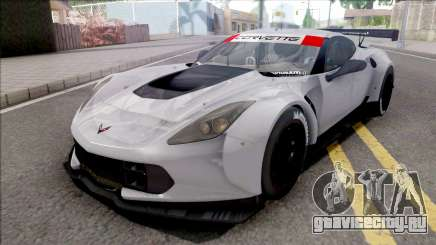 Chevrolet Corvette C7R 2014 Paint Job Preset 2 для GTA San Andreas
